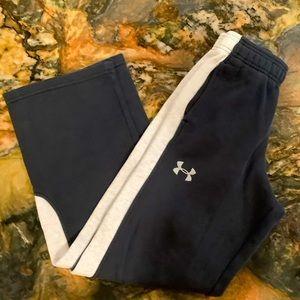 Under Armour storm loose black sweatpants medium